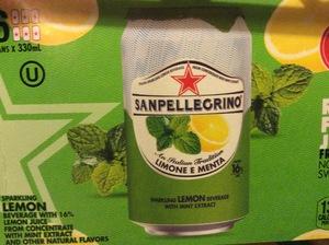 San Pellegrino Lemon and Mint 6-Pack